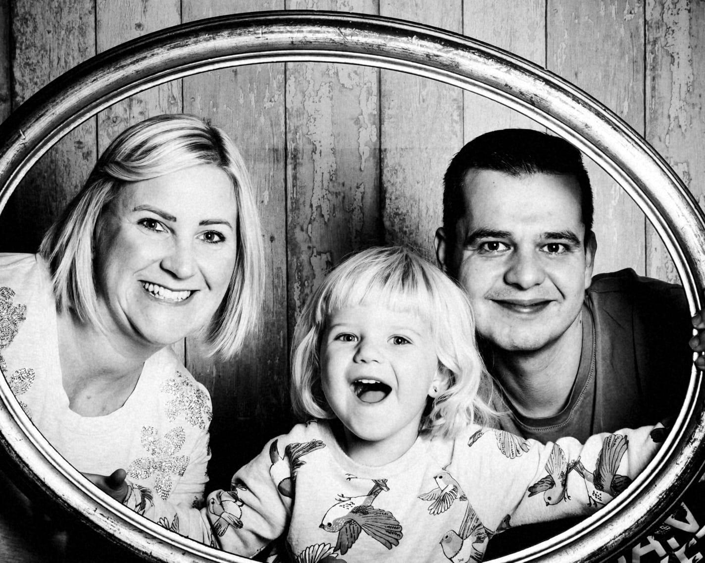Birgit, Armin und Kate